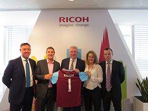 Ricoh Imagine Change with the Hammers