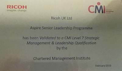 Ricoh Tier Leadership programme