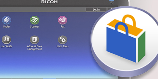 Ricoh Application site