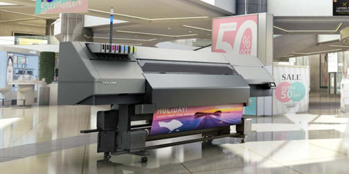Large & Wide format printers