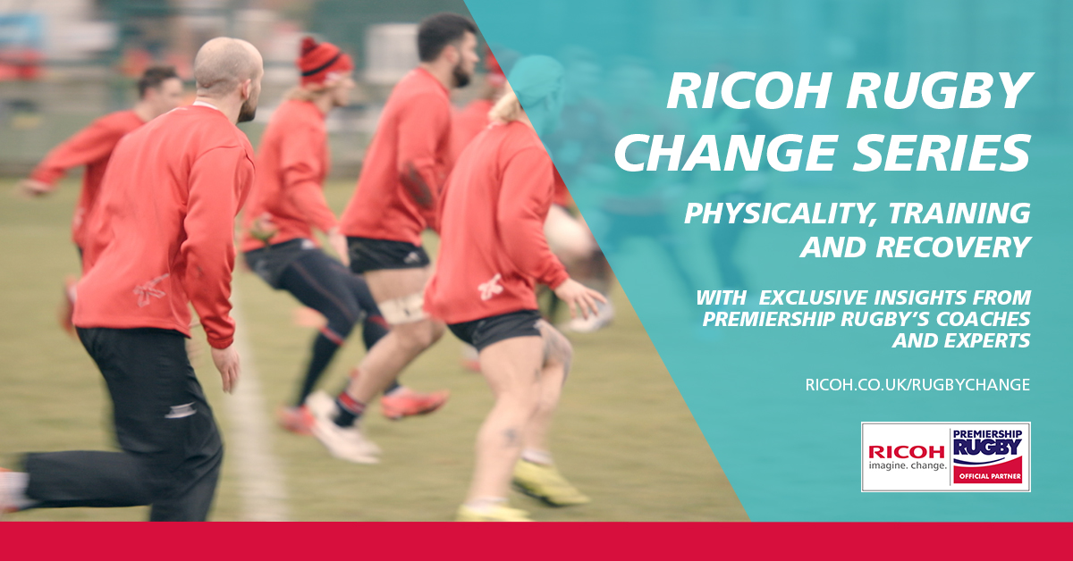 Ricoh Rugby Change Series launch Physicality video