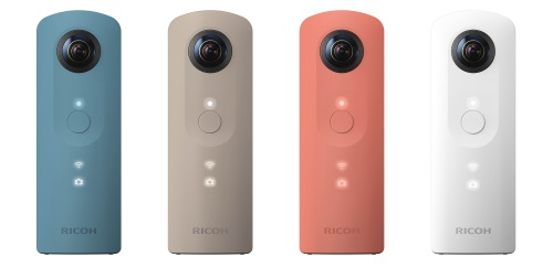 RICOH launches the THETA SC 360-degree camera